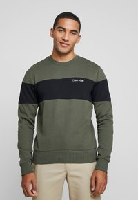 Calvin Klein - LOGO - Sweatshirt - green - 0
