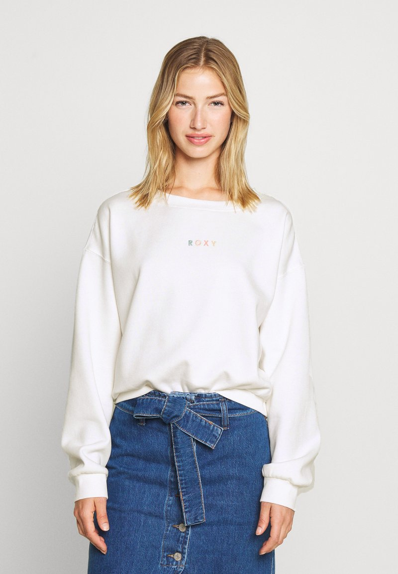 Roxy - SUNSET CREW - Sweater - snow white