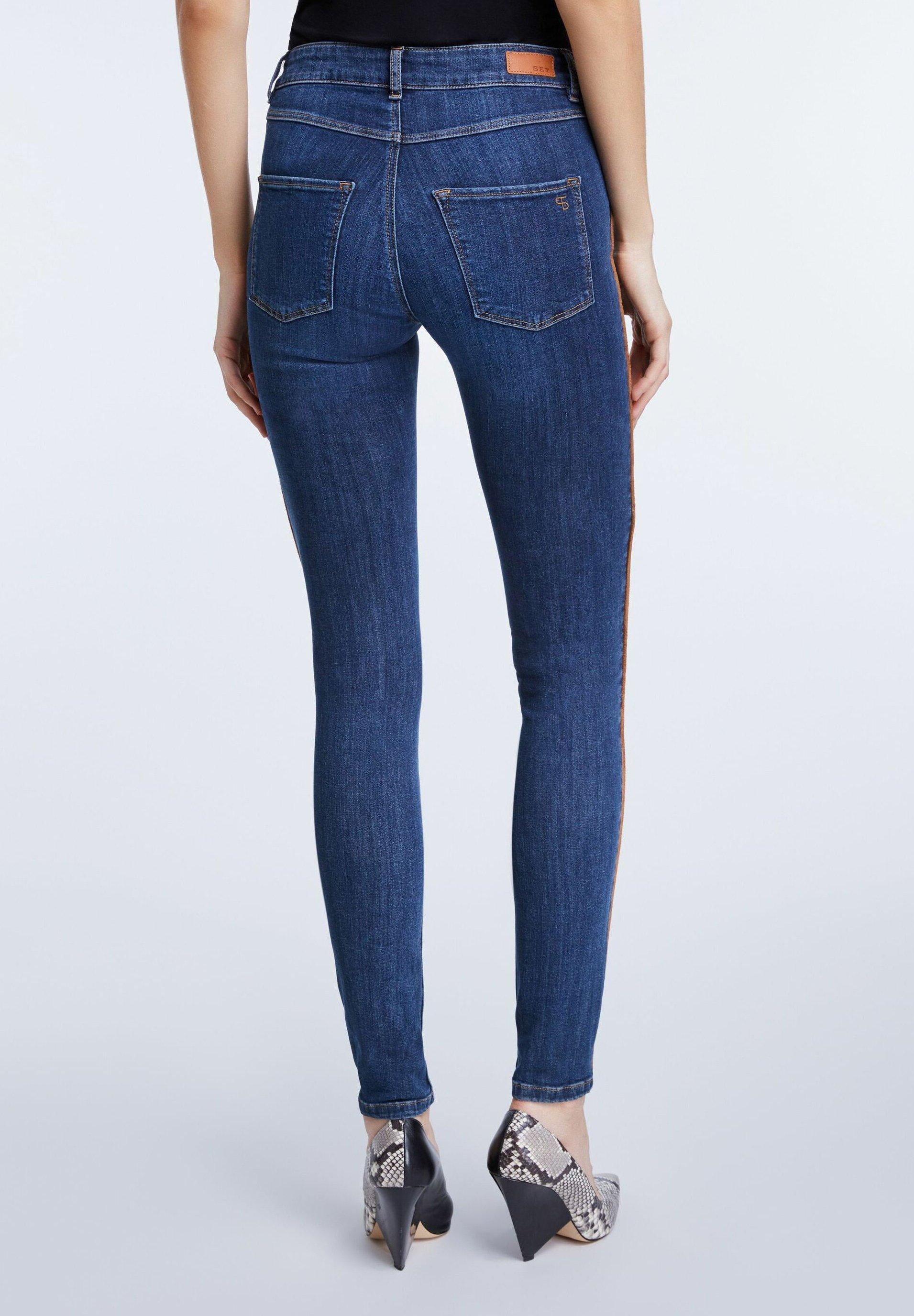 SET Jeans Skinny - bright blue - Jeans Femme xyJjD