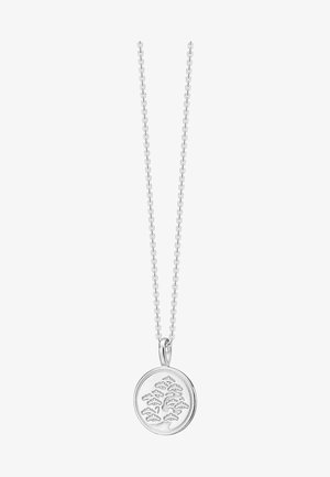 KAMON NECKLACE RHODIUM PLATED - Ketting - silber