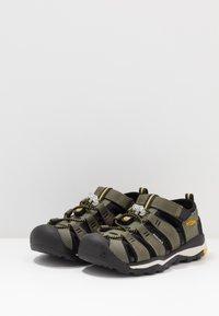 Keen - NEWPORT NEO H2 - Walking sandals - dusty olive/sulphur - 3