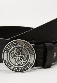 Guess - ADJUSTABLE BELT - Belt - black - 2