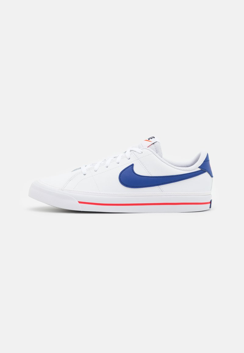 Nike Sportswear - COURT LEGACY  - Trainers - white/deep royal blue/university red