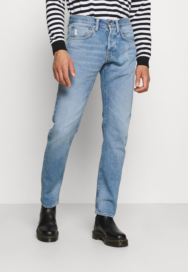 Jeans Straight Leg - blue noboku wash