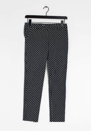 Chino kalhoty - black, white