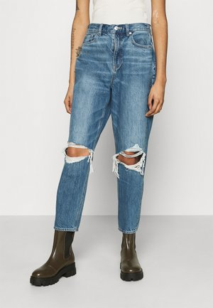 HIGHEST RISE MOM - Jeans slim fit - gemini blue