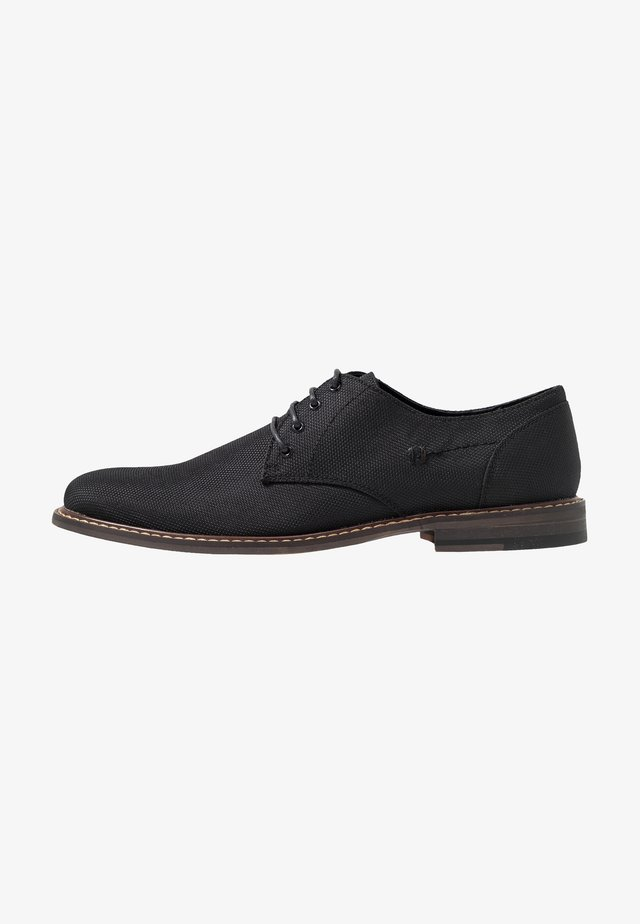 JIMMY - Zapatos con cordones - black