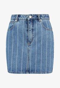 Abrand Jeans - SKIRT - Denim skirt - thunder - 3
