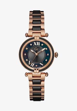 Watch - rose gold/black