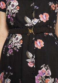 Vero Moda Curve - VMLOVELY  DRESS - Sukienka koszulowa - black - 5