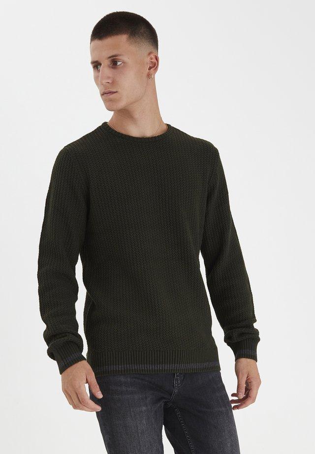 Sweter - moss