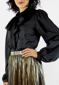 Aline Celi - MARI - Button-down blouse - black - 3