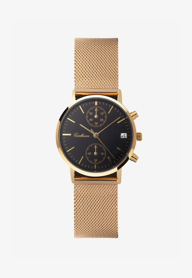 Chronograaf - gold-black