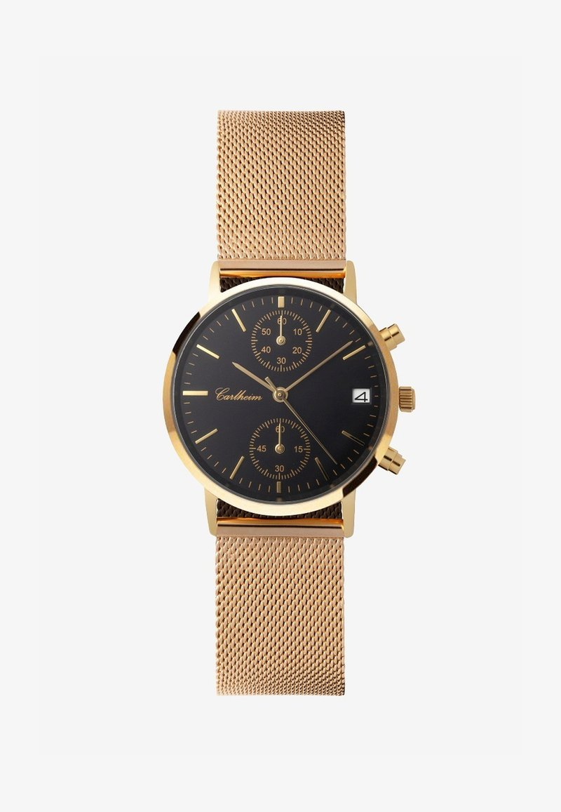 Carlheim - Montre à aiguilles - gold-black