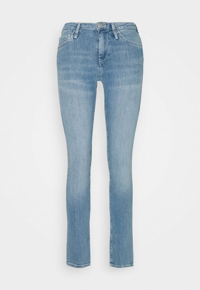 NEW HALLE CROP - Jeans Skinny - blue