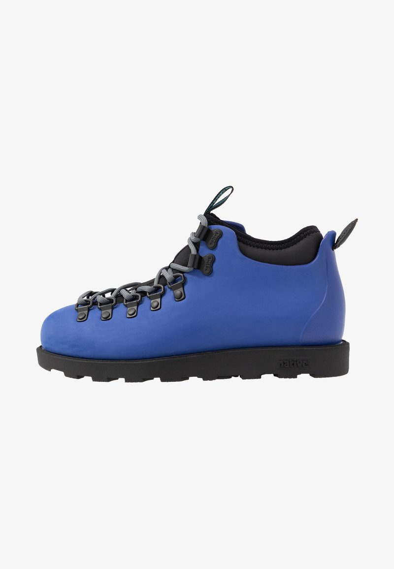 Native - FITZSIMMONS  - Lace-up ankle boots - reflex blue/jiffy black