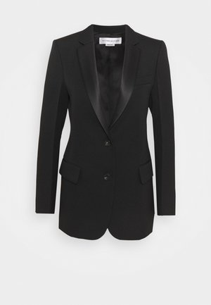 SINGLE BREASTED TUX JACKET - Sportovní sako - black