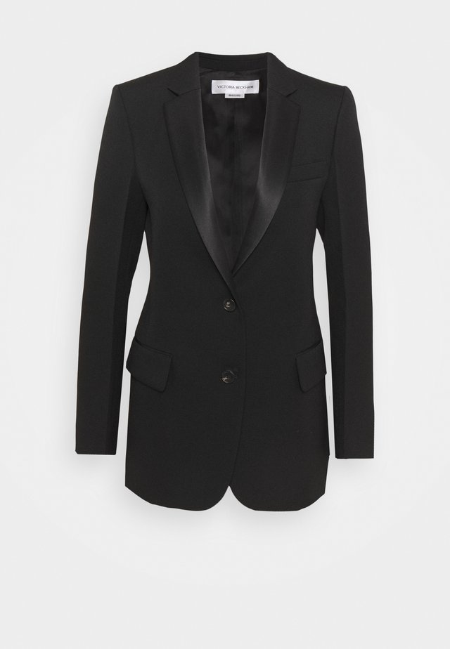 SINGLE BREASTED TUX JACKET - Blazer - black