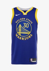 Nike Performance - NBA GOLDEN STATE WARRIORS STEPH SWINGMAN - Club wear - rush blue/white/amarillo/steph curry - 4