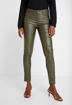 AIDA COOPER - Trousers - olive night