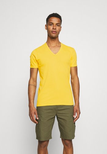 BASE 2 PACK - T-shirt - bas - yellow cab