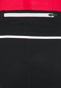 La Sportiva - PIRR PANT  - Leggings - black/hibiscus - 2