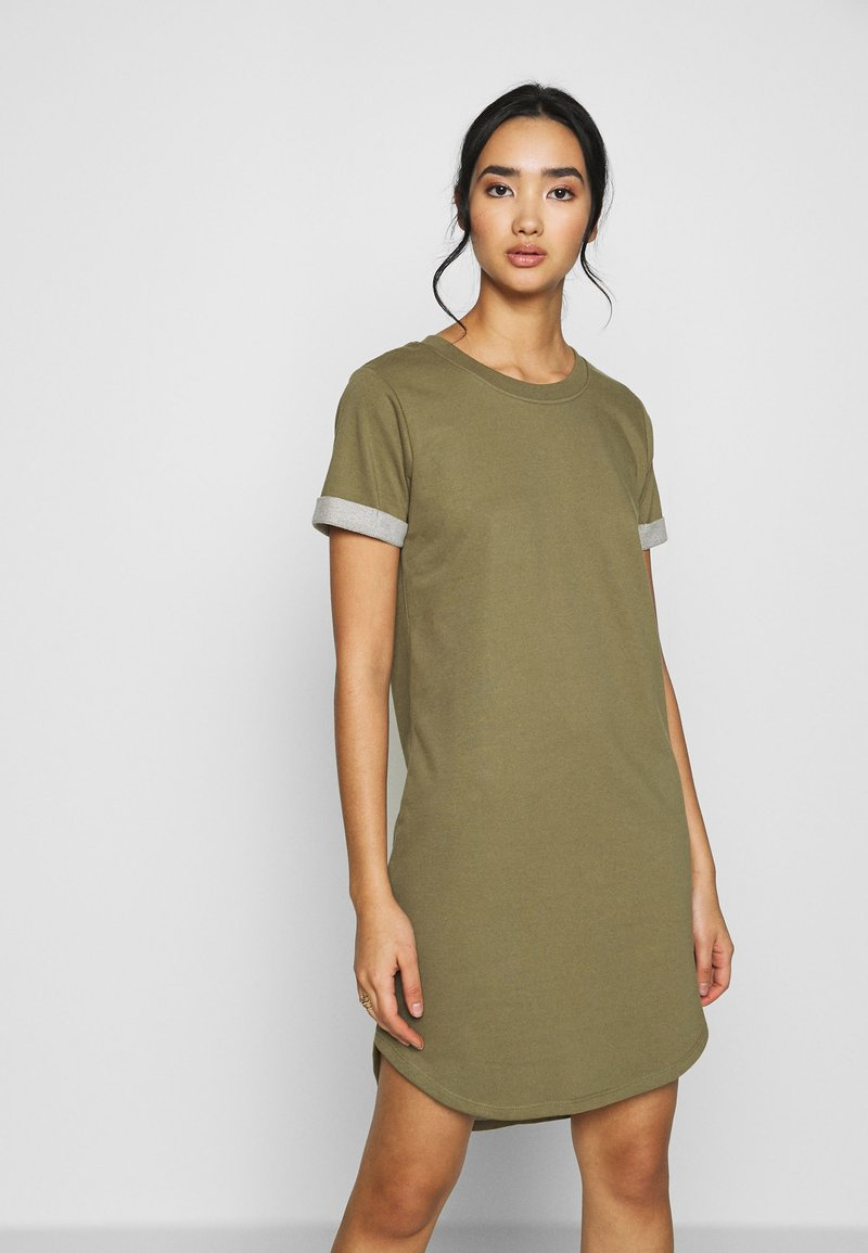 JDY - JDYIVY LIFE DRES - Day dress - martini olive