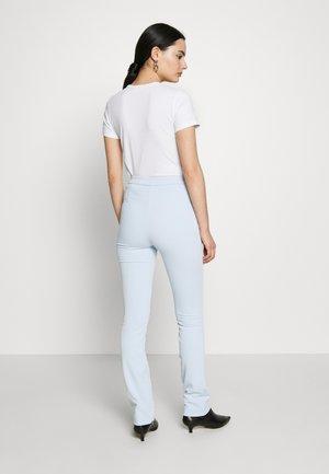 ALECIA TROUSER - Trousers - light blue