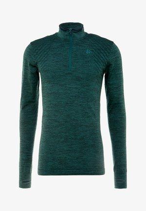 COMFORT ZIP  - Long sleeved top - pine melange