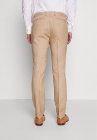 Topman - DAX DENZEL - Pantaloni eleganti - stone - 2