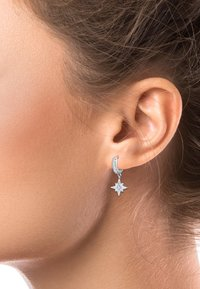 Elli - ASTRO STAR - Earrings - silver-coloured - 1