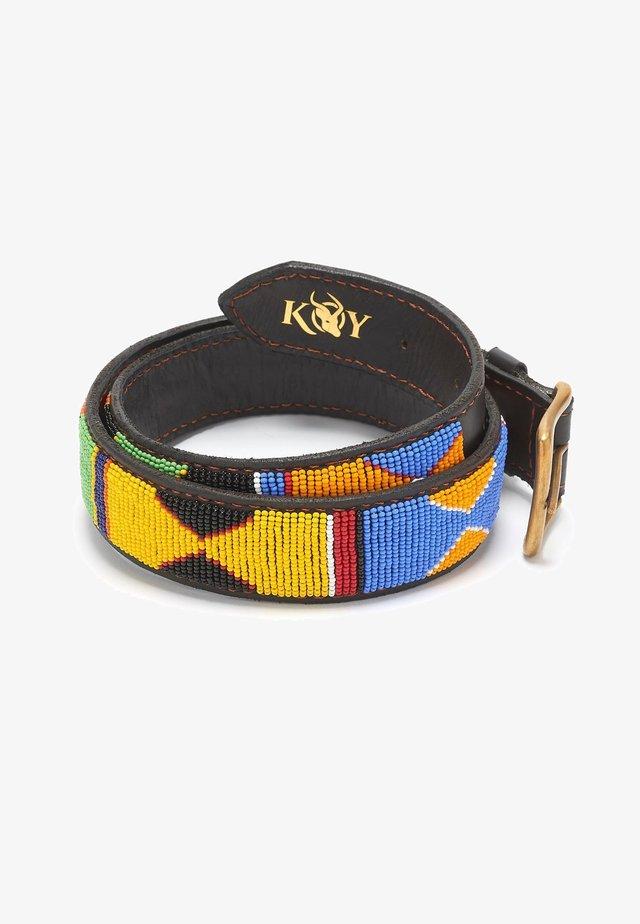 JUA (WIDE) - Belt - red/yellow