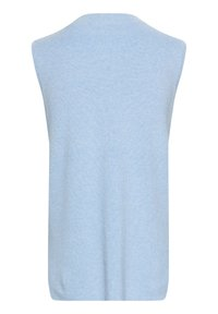 Kaffe - Top - chambray blue melange - 5