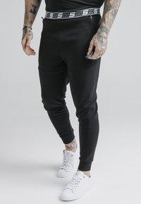 SIKSILK - EXHIBIT FUNCTION PANTS - Pantalones deportivos - black - 0