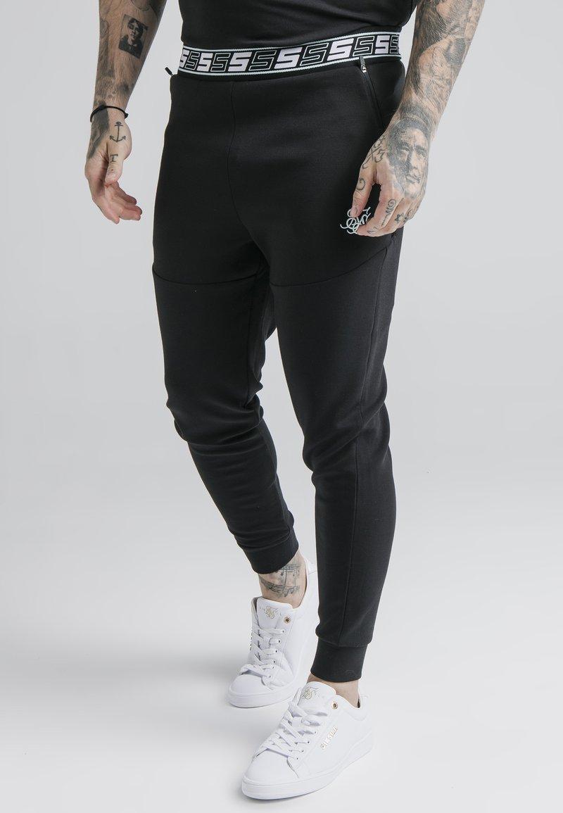 SIKSILK - EXHIBIT FUNCTION PANTS - Pantalones deportivos - black