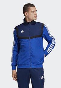 adidas Performance - TIRO 19 PRESENTAION TRACK TOP - Training jacket - blue - 0