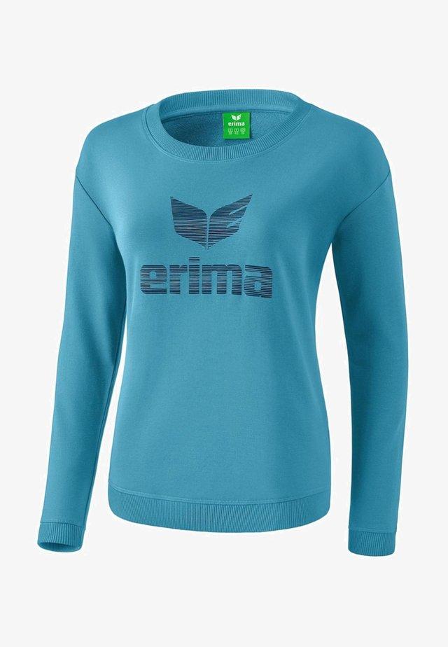 ESSENTIAL SWEATSHIRT DAMEN - Sweatshirt - niagara/ink blue