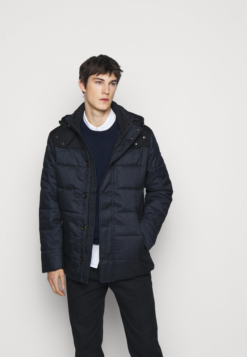 Hackett London - CLASSIC PUFFER - Giacca invernale - navy