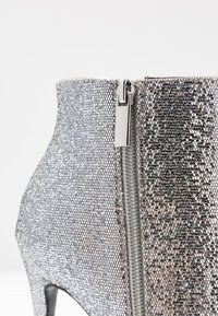 Even&Odd - High heeled ankle boots - silver - 2