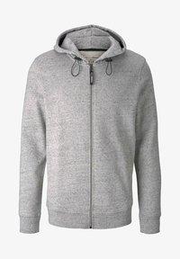TOM TAILOR DENIM - Zip-up sweatshirt - grey - 4