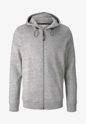 Sweat à capuche zippé - grey