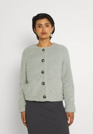 VMCOZYAMANDA  - Fleece jacket - mineral gray