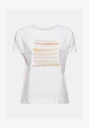 Print T-shirt - white colorway