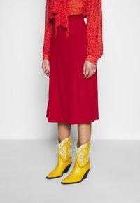 Ghost - GEMMA SKIRT - A-line skirt - chilli paper - 0