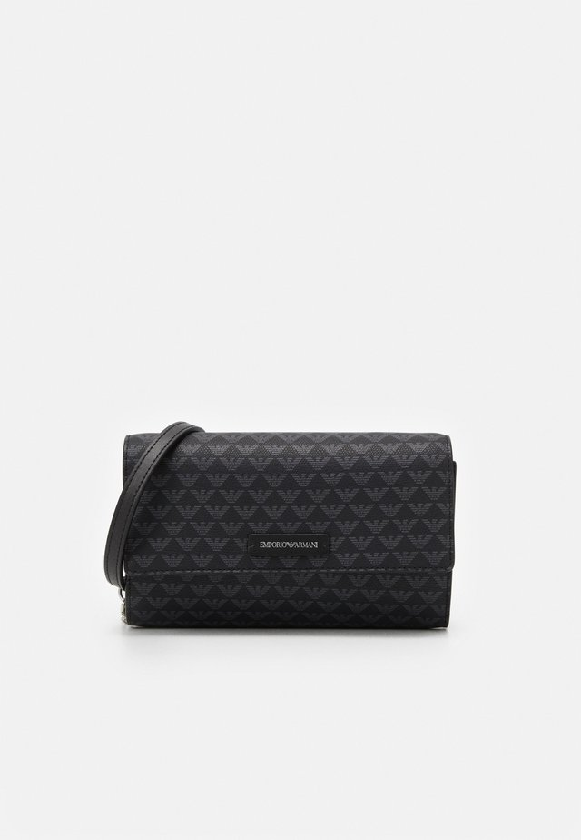 PRINT WOMEN WALLET WITH CHAIN - Monedero - nero