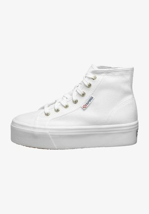 Trainers - white/pale gold