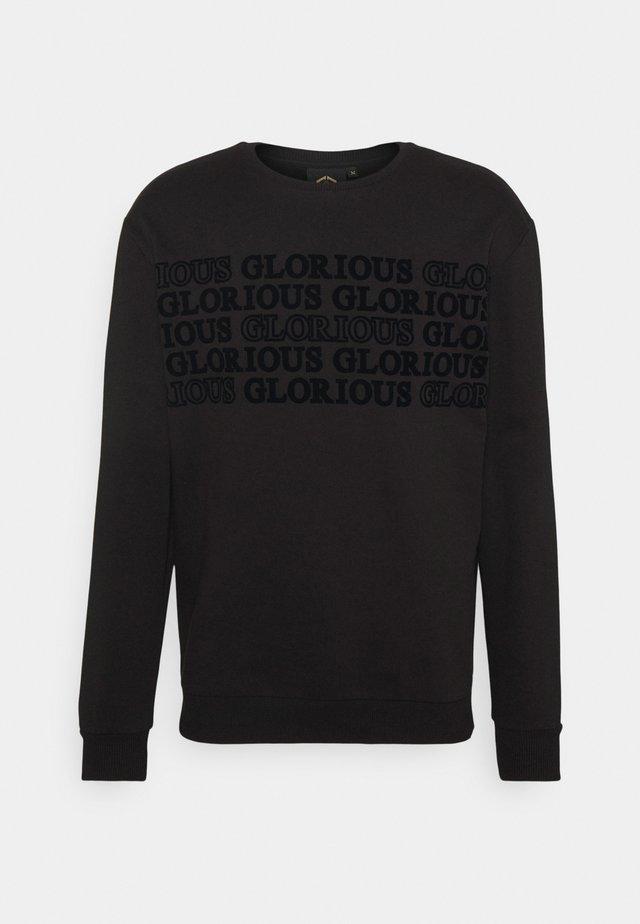 ESTEN CREW - Sweater - black