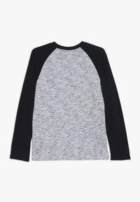 Abercrombie & Fitch - FOOTBALL TEE - Långärmad tröja - white/blue - 1