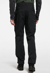 Haglöfs - MID FJELL PANT - Trousers - true black - 1