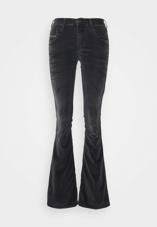 D-EBBEY - Bootcut jeans - black
